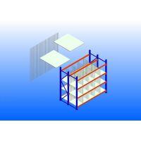 中型三柱层钢层板隔钢丝网