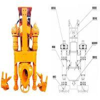 YSQ液压式潜水泥浆泵—龙工240挖机专用高耐磨泥浆泵