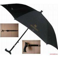 晴雨两用拐杖伞、专为老人制作的高端防晒又防雨的可以当拐杖用的伞