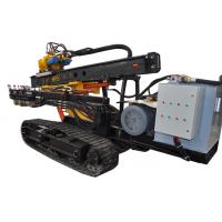 供应哈迈HM90AC柴电双动力全液压履带锚固钻车 多功能钻机