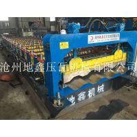 1200型4峰车厢瓦楞板辊压成型机 汽车车厢板压瓦机设备