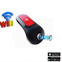 新款隐藏式行车记录仪 wifi链接 手机APP 170度广角