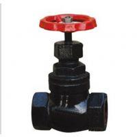 水管暖气开关阀门 铜芯铸铁丝扣截止阀DN15 20 25 40 4分 6分 1寸