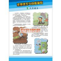安全科普知识宣传壁报 编号YU1751 规格50*70cm 数量4张/套