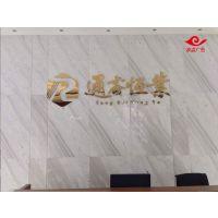 波点广告,专业制作深圳南山科技园背景墙(标志墙)广告字