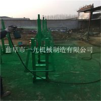 移動式果園立樁挖坑機 大型多功能挖坑機 車載式螺旋打樁機