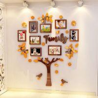 成长照片树3D立体墙贴画客厅沙发背景墙亚克力相框卧室儿童房装饰