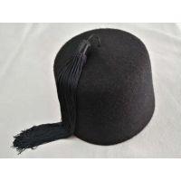 土耳其黑色流苏羊毛毡帽Turkish Band Cap