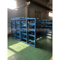 上海可抽拉货架设计厂家 抽拉式存放架 切割机配套钢板货架
