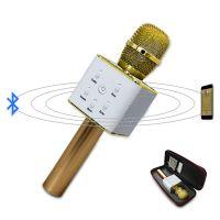 Q7手机无线蓝牙音箱 MusiccrownK歌宝 蓝牙话筒麦克风 掌上KTV