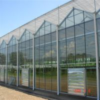 农业果蔬温室建设 草莓采摘大棚造价分析 连栋玻璃温室大棚