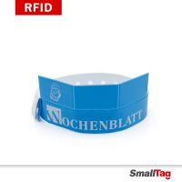 一次性软PVC手环厂家RFID防水腕带NFC医院身份识别电子门票手腕带
