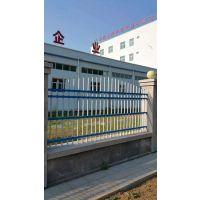 恒跃围墙护栏厂家供应学校小区锌钢围墙护栏 工厂铸铁围墙栏