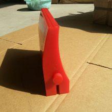 聚氨酯皮带清扫器刀头 浇注聚氨酯刮刀 H型清扫器刀头长期供应