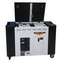 新沂35kw汽油发电机组40千瓦三相发电机组电调无刷发电机380v