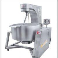 供应泰威300L电磁加热搅拌炒锅煮锅