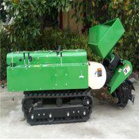 固态化肥尿素履带施肥机 多用途农用深耕机 慧聪机械施地开荒犁地开沟机