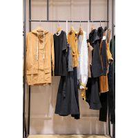 米梵张莉服装折扣批发市场 广州品牌折扣女装批发尾货棕色半身裙