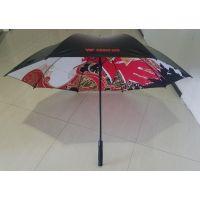 定制双层印花直杆伞、双层伞面两面印刷晴雨伞制作、厂家定做