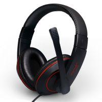 danyin/电音 2208头戴式耳机 电脑游戏耳麦 带线控 电脑耳机