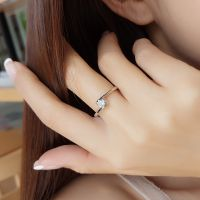 厂家直销925银戒指女日韩简约学生潮人开口戒原创设计一件起批