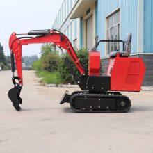 杰工生产加长臂小型挖掘机 驾驶式挖土机厂家