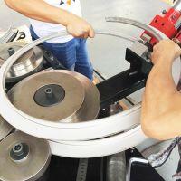 永丰YF-FL20全自动带钢扁钢角钢卷圆成型机数值滚圆及法兰金属成型机风管通风管专业厂家