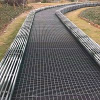 园林水沟盖板 防滑踏步板 钢结构厂房钢格栅板