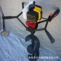 新款大马力钻地机 电线杆挖坑机 单人手提挖坑机生产厂家