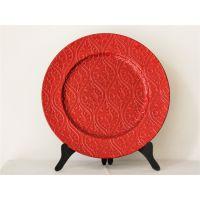 创意装饰花边藤蔓纹塑料餐具餐盘餐垫西式pp赣州吉奥YF-60921