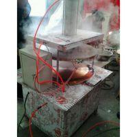 恩平600型大饼烙饼机 全自动压饼机自动烙饼机 烙饼机 烙馍机 气缸烙饼机安全可靠
