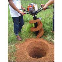 甘肃汽油二冲程劲大挖坑机 苹果树种植打眼机 手提式挖坑机生产工厂