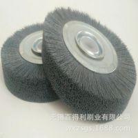 专业生产碳化硅磨料丝圆盘刷尼龙圆盘刷各类磨料丝圆盘刷厂家直销