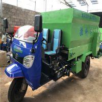 饲料机械养殖撒料车视频 牛舍用电动撒料车