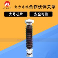 110KV陶瓷避雷器Y10W-108/281高压瓷外套金属氧化锌避雷器102/266