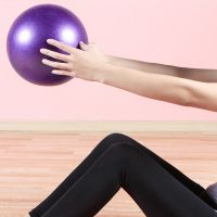 迷你瑜伽球加厚防爆 儿童瑜伽健身球孕妇普拉提小球