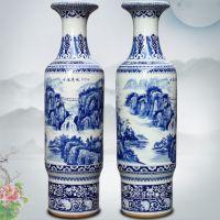 送朋友商务礼品大花瓶 定制开业礼品陶瓷大花瓶 景德镇落地大瓷瓶价格