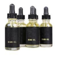 厂家胡子滋润柔顺护理精油Beard oil 亚马逊外贸胡须油套装定制