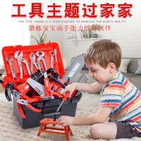 jdy修理套装儿童工具幼儿仿真维修台工具箱男童婴儿生日全套工具