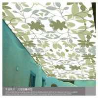 【爆】软膜天花吊顶材料 拉膜承重强 防火透光造型美观 柔性天花