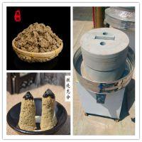 传统工艺制造豆浆石磨 现磨现卖米浆石磨