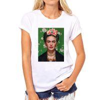 速卖通弗里达·Frida 画家短袖圆领T恤 女士体恤