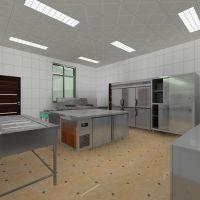 长治单位公司工厂职工食堂商用厨房工程设计效果图