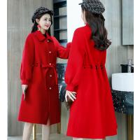 杭州便宜毛呢大衣外套清货时尚便宜女式外套库存呢子大衣清仓品牌尾货批发