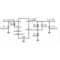 供应嘉泰姆CXSD62497驱动IC 3A输出的降压直流稳压器