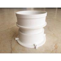 广东厂家德塑直销PVC精品φ110防水止水阻燃双钉预埋防漏套筒