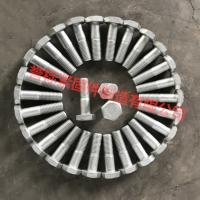 江苏高强度螺栓制造商 8.8级热镀锌外六角螺栓现货