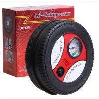 汽车用品 轮胎充气泵 12V 24V 迷你打气机 车载充气机 电动打气泵