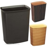方锥形塑料垃圾桶阻燃办公室家用收纳桶宾馆酒店客房房间桶清洁桶