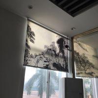 东莞刀刮布喷绘公司 UV超宽五米黑白布喷绘 520喷绘布